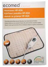 ecomed by Medisana Heizkissen HP-40A flauschig weich/3 Stufen/100 Watt