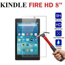 "Genuine Tempered Glass Screen Protector For Amazon Kindle Fire HD 8"" 2017"