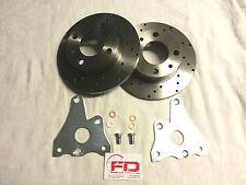 FRENI A DISCO FORATI E RACCORDI OLIO PER FIAT 500/126 disc brakes fiat 500/126