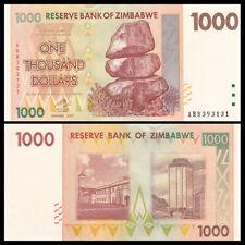 Zimbabwe 1000 Dollars, 2007, P-71, UNC, Banknotes