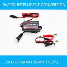 0.75A Lead Acid Batteries Maintainer 12V/6V Smart Boat ATV Car Battery Charger