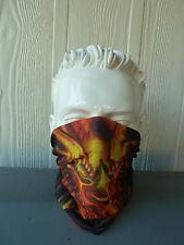 'DRAGON' Head/Face/Mask/Neck Multi-wear tube Bandana/Durag. Scarf/HeadWrap. 074