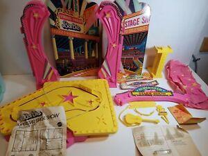Vintage 1978 Mattel - Barbie Superstar Stage Show 95% Complete With Box
