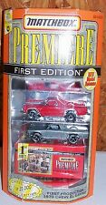 Old Matchbox Premiere First Limited Edition Toy 1970 Chevy El Camino Truck Car