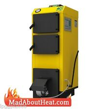 WBI 24kW Fan Assisted Multi Fuel Boiler burn logs coal waste for central heating