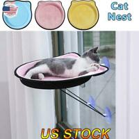 US Cat Hammock Window Mounted Hanging Bed EVA Pendant For Pets Soft Rest House