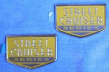 "NOS OEM Chrysler PT Cruiser ""Steet Cruiser Series"" Emblems, Custom Rat Rod MOPAR"