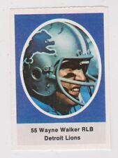 1972 Sunoco Stamps #211 Wayne Walker