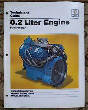 Detroit Diesel Engine Fuel Pincher 8.2 Liter Service Manual 1984 General Motors