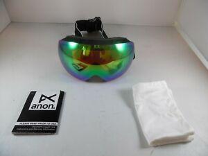 Anon Men's Mig Goggle-Black Frame Sonargreen Lens-NO MIF MASK