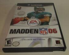 Madden NFL 06 (Nintendo GameCube, 2005) Fun Football Game Good Shape