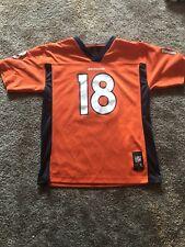 PEYTON MANNING Denver Broncos NFL Replica Football Jersey L Youth Large (14-16)