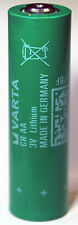1PC Varta CRAA 3 Volt Lithium AA Size Battery Made in Germany, Ships from Canada