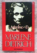 Marlene D Por Marlene Dietrich Autobiografia Espanol 1985 Fotos