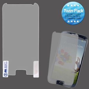 For Samsung Galaxy S4 Screen Protector Twin Pack