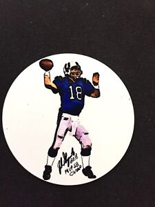Indianapolis Colts Peyton Manning lapel pin/magnet-Collectable-#1 Best Seller