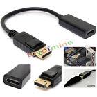 DP DisplayPort mâle vers HDMI femelle câble adaptateur converter Pour PC/HP/DELL