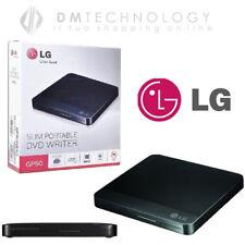 MASTERIZZATORE ESTERNO LETTORE LG DUAL LAYER USB DVD CD/RW PORTATILE GP50NB40