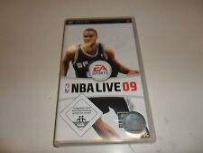 PLAYSTATION PORTABLE PSP NBA LIVE 09