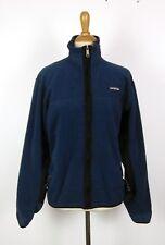 Vintage Patagonia Slate Blue Fleece PEF Windproof Full Zip Jacket S Made in USA