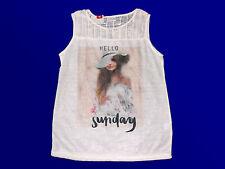 Damenshirt T.-Shirt Tunika Shirt  Pullover mit Motiv  wollweiß Gr. M knitterfrei