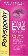 Polysporin Antibiotic Ear and Eye Drops Treats Pink Eye + Other Infections