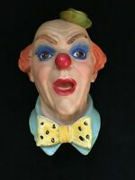 Legends Clown No.3 Signed Frank Wright 1984 Chalkware Vintage Bossons