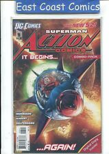 ACTION COMICS #5 COMBO PACK - DC NEW 52