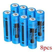 8Pcs 18650 3.7V 12000mAh Rechargeable Li-ion Battery for LED Torch Flashlight XP