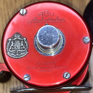 Vintage Abu Ambassadeur 5000 Reel