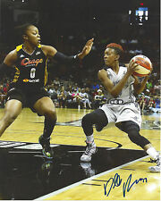 Danielle Robinson Signed 8 x 10 photo Wnba Basketball San Antonio Stars