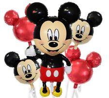 5 Palloni TOPOLINO MICKEY Disney Compleanno Festa Party