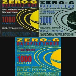 Zero-G - Datafile One-Three Sample Library | WAV Samples |