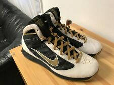 Men's Nike Hyperize Purdue Final Four Size 12 Shoes Sneakers Air Max Dunk Gold