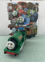 Thomas Trackmaster Peter Sam train with brake truck battery operated TOMY Mint