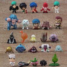 Random 8pcs Set Japanese Anime TORIKO 1cm-3cm PVC Mini Figure Loose