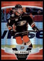 2019-20 OPC Platinum Red Prism #114 Cam Fowler /199 - Anaheim Ducks