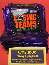 1993 Skybox COSMIC TEAMS DC Comics - 60 UNOPENED SEALED PACKS of 8 - 480 Cards