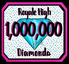 ROYALE HIGH - 1M DIAMONDS RH, HALO  *READ DESCRIPTION*