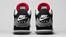 2018 Nike Air Jordan 3 III Retro OG Black Cement Size 7. 854262-001