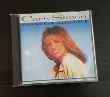 CD ALBUM - CARLY SIMON - GREATEST HITS LIVE