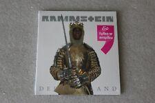 Rammstein - Deutschland CD - POLISH STICKER NEW SEALED