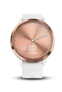 🔥NEW🔥 Garmin Vivomove HR Sports Smartwatch Fitness Watch - Gold/White