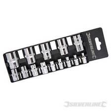 Silverline 675072 E4-e24 Socket ext Set 14pcee4 - E24
