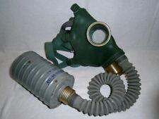 Soviet Gas Mask GP-4 Civilian NBC Protection Filter Russian Military Surplus 60s