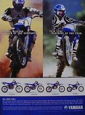 YAMAHA Ad TT-R250 225 125L R-90 Motorcycle Ad With Jeremy McGrath