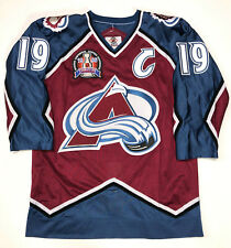 JOE SAKIC 1996 STANLEY CUP STARTER NHL AUTHENTIC COLORADO AVALANCHE JERSEY 46
