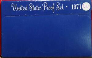 Uncirculated 1971 United States Proof Set