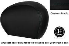 BLACK VINYL CUSTOM FOR PIAGGIO VESPA 125 250 300 GTS BACKREST COVER ONLY