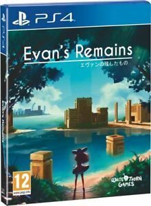 EVAN'S REMAINS PS4 GAME